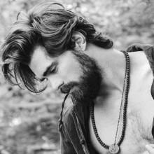 lang manly hipster Männer-Frisuren
