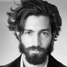 lang medium Haarschnitte für Männer