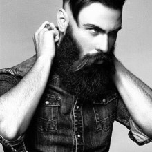 lang mittellang männlichen Frisuren