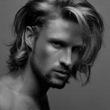 lang moderne Frisuren für Männer