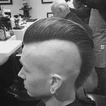lang mohawk Frisuren für Männer