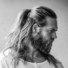 lang samurai Herren-Haar-Ideen