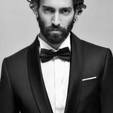 lang und lockig stilvolle Frisuren für Männer