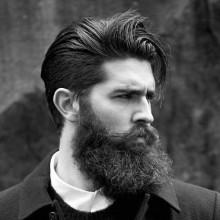 lange Haare, medium Frisuren für Männer