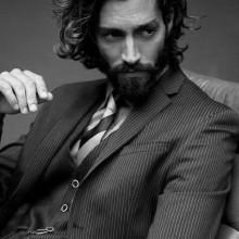 lange männliche klassischen Haarschnitt inspiration