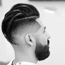 low Haut verblassen Haar-Ideen Männer