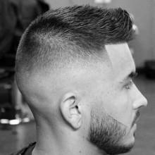 low fade Haarschnitt styles für Männer