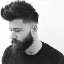 low fade-medium Haarschnitte für Dicke gerade Stecker Haare