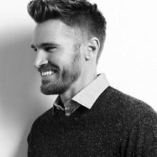 low fade tolle Frisur für Männer kurz-Länge