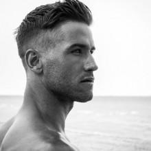 männliche Dicke Haare, kurze Frisuren
