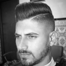 männliche taper fade haircut Ideen