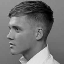 manly Herren Frisuren für feines glattes Haar