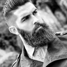 manly Herren-Frisuren mit Bärten