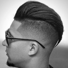manly Herren-Haar-Haut-Verjüngung fade