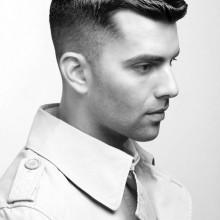 manly alten Schule Frisuren für Männer