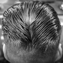 manly ducktail Haarschnitt inspiration für Männer