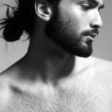 manly samurai-Frisuren für Jungs