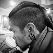 maskuline Jungs lange Unterschnitt Frisur Ideen