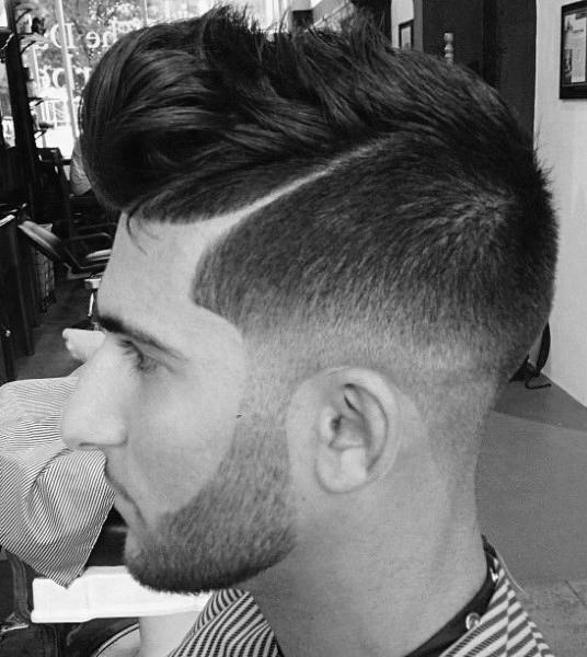 Rasiert Seiten Frisuren Für Männer Anleitung