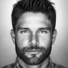 maskulinen faux hawk-Frisur für Männer