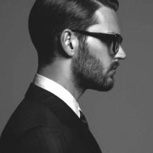 maskulinen männlichen business-Frisuren