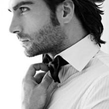 maskulinen slicked back-flow-Frisuren für Männer