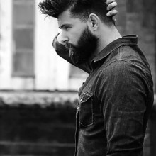 medium Frisuren für Männer mit dicken Haaren