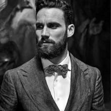 medium Länge Herren klassische Frisuren für Männer mit dicken Haaren