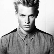medium dickes Haar-styles Männer