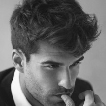 medium thick moderne Frisuren für Männer