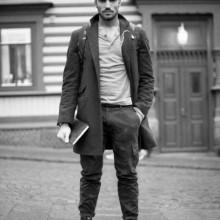 medium thick tolle hipster-Haar-Schnitt Männer