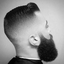 mens Frisuren kurze Haare verblassen