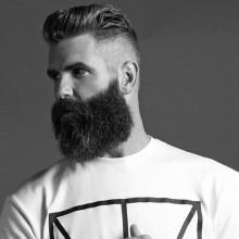 mens Frisuren mit seitlichem Rasiert