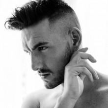 mens Rasiert Seiten Frisuren
