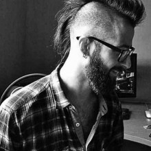 mens Rasiert mohawk haircut