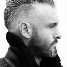 mens hair fade style