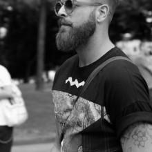 mens hair hipster chaotisch taper fade