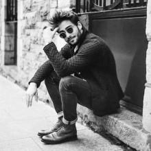 mens hipster-Frisuren lange quiff