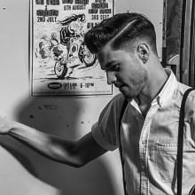 mens old school Friseur-Haarschnitte