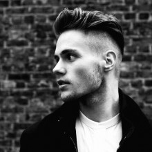 mens shaved sides hairstyles