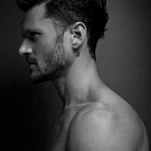 mens short-Seite Haarschnitt