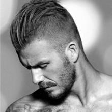 mens short side Frisuren gekämmt zurück