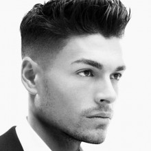 mens short spiky Frisuren