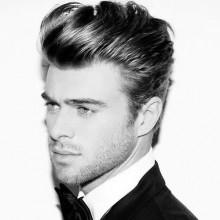mens welliges Haar