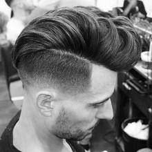 mittlere bis kurze Jungs Haarschnitte für Dicke Haare