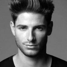 mittlere bis kurze männlichen Frisuren für Dicke Haare
