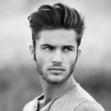 mittlere bis lange tolle Frisur für Männer