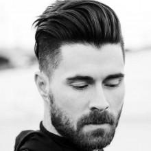 mittlerer Länge Frisuren dickes Haar für Herren