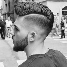 mittlerer Länge Frisuren für Männer harte Teil