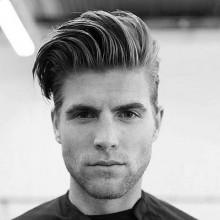 mittlerer Länge Frisuren welliges Haar für Jungs